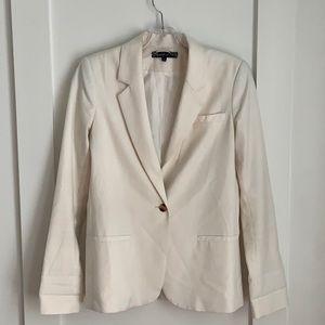 Elizabeth and James Jackets & Coats - Elizabeth & James Off White Blazer Size 4